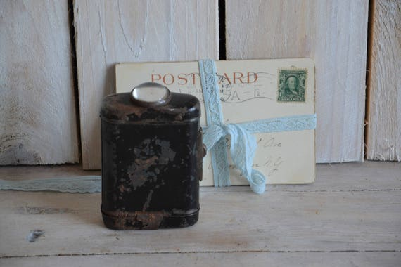 Vintage flashlight, Signal flashlight, Vintage latern, Pocket lantern, Military flashlight, Army flashlight, Collectible pocket lamp