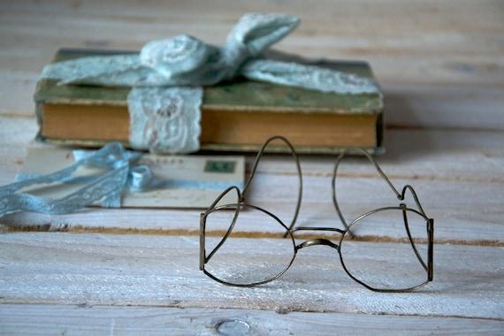 Antique metal eyeglasses, Handmade eyeglasses, Joh