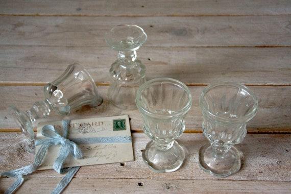 Vintage shot glasses, Vodka glasses, Shot glasses, Shot glasses, Vodka serving glasses, Drinkware