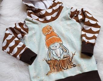 Skihase Skihäschen Bunny Hase Apres Ski Sprüche Kapuzenpullover Hoodie Sweater