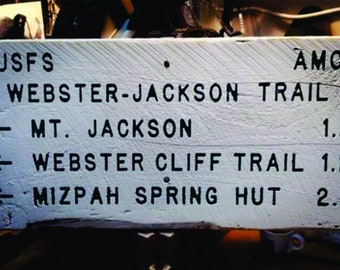 Webster Jackson Trail - Appalachian Trail - White Mountain National Forest