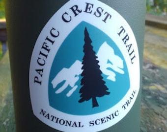 """Pacific Crest Trail PCT 3"""" vinyl sticker"""