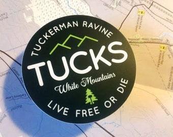 Tuckerman Ravine sticker