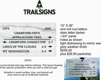 CRAWFORD PATH Appalachian Trail