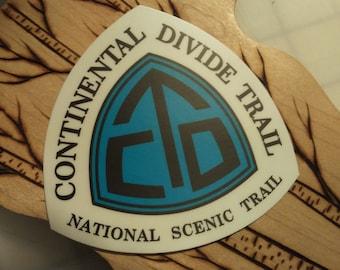 """Continental Divide Trail CDT 3"""" vinyl sticker"""