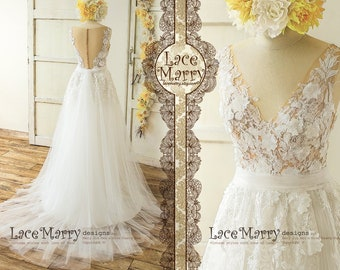 7908e4ce66fa Custom Made Wedding Dresses and Bridal Party Dresses by LaceMarry