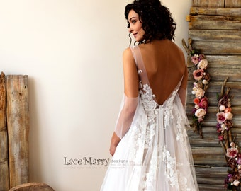 Custom Made Wedding Dresses And Bridal Party Dresses By Lacemarry