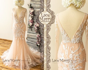 Custom Made Wedding Dresses and Bridal Party Dresses by LaceMarry 4cc8293fb067