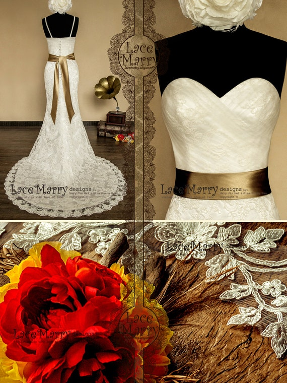 Classic Vintage Inspired Wedding Gown With Cross Tulle Etsy