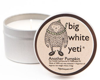 Another Pumpkin Soy Candle- 6oz Tin