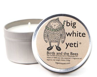 Birds and the Bees- 6 Ounce Tin
