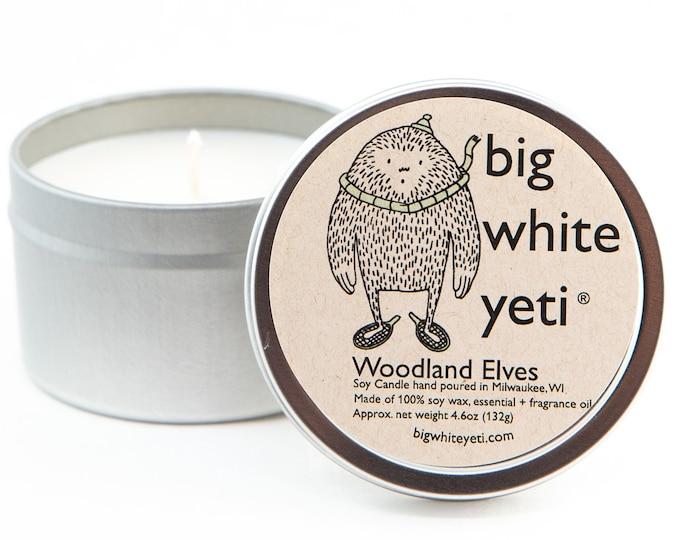 Woodland Elves Soy Candle- 6oz Tin