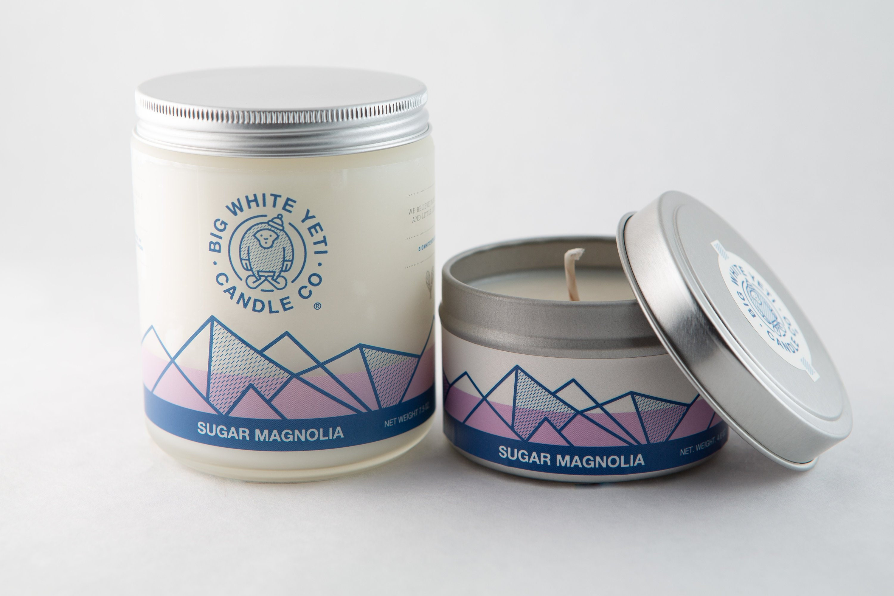 Sugar Magnolia Soy Candle 6 Ounce Tin