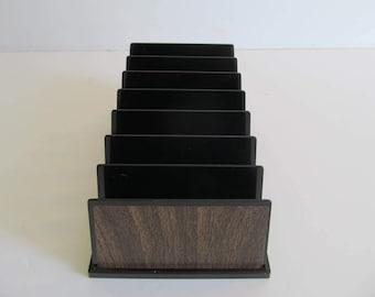 Letter Divider, Letter Holder, Vintage Letter Divider, Mod Office Decor, Desk Supplies, Retro Decor, Office Supplies, Bill Dividers, Office