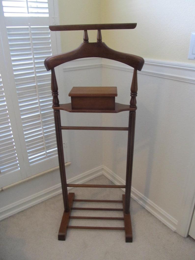 Mid Century Butler Chair Valet Chair Mid Century Furniture Etsy