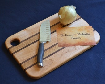 "Medium Wood Cutting Board 14"" X 10"""