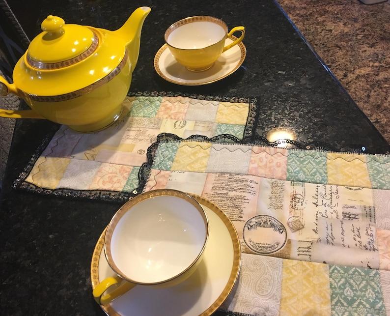 Tea time placemats