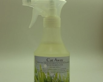 Cat Away Organic Aromatherapy Spray to stop cat scratching
