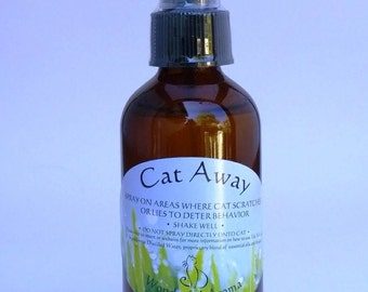 Cat Away Spray Sample Pack of 3 bottles                            Protecting your Furniture from cat scratching!