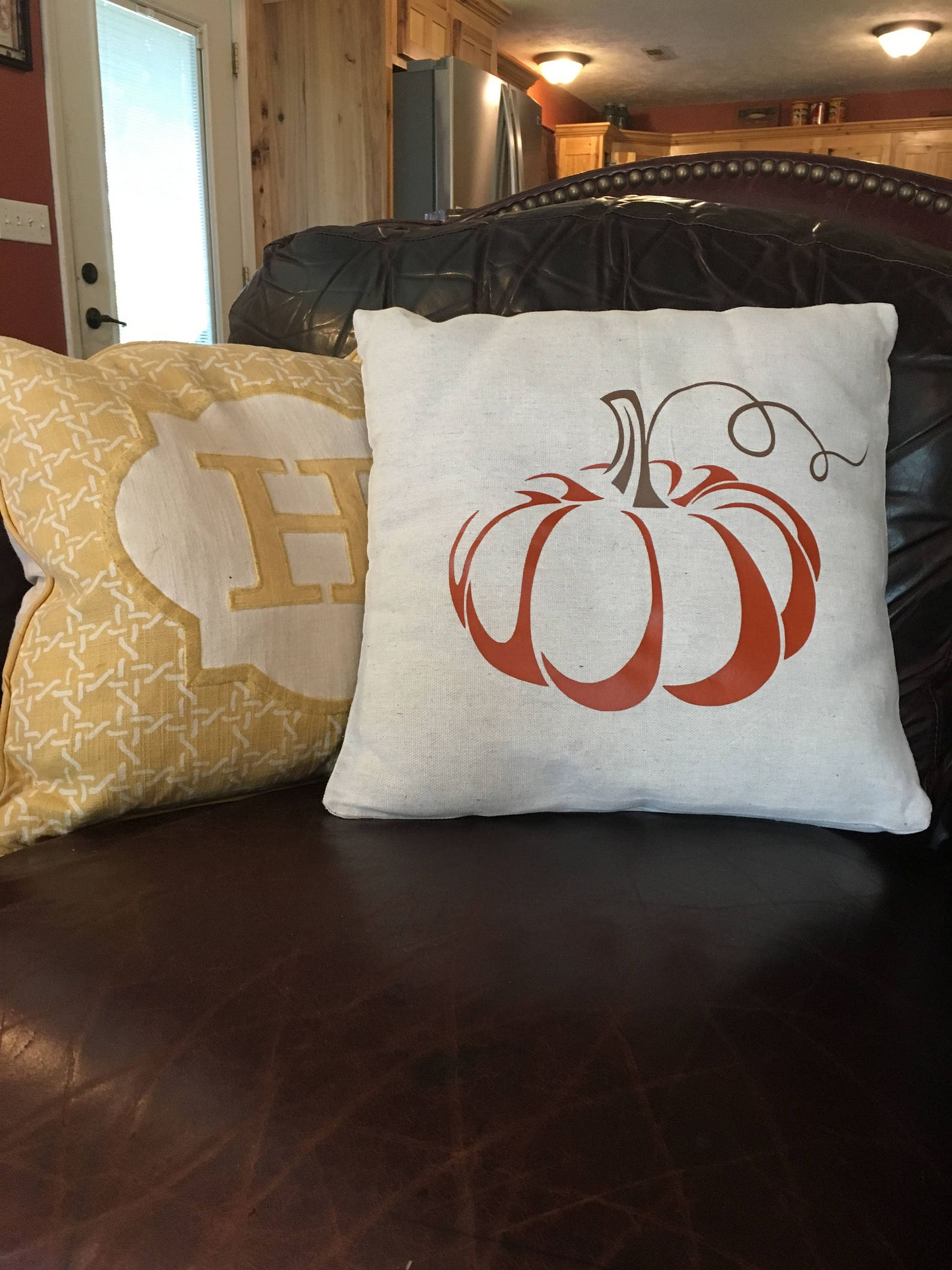 Pumpkin Throw Pillow Covers Page Four Fall Home Decor