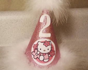 Hello Kitty Birthday Party Hat Supplies