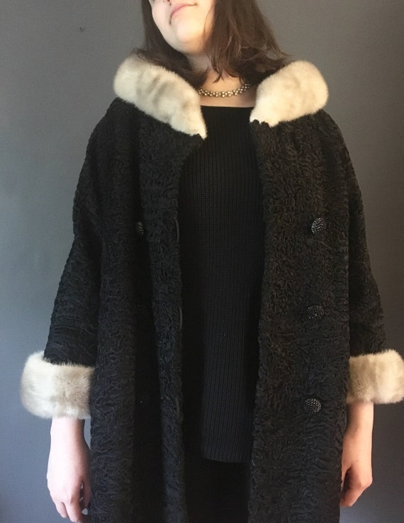 Vintage Dramatic True Vintage, Persian Lamb Fur Co