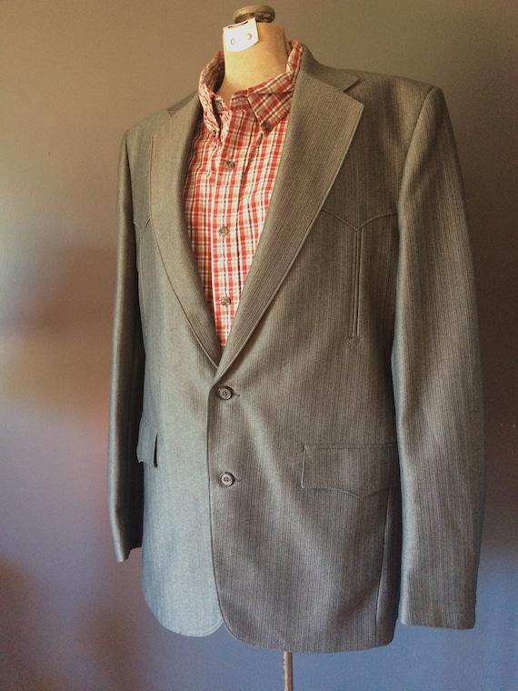 Vintage Western Men's Blazer, Western Sport Coat,