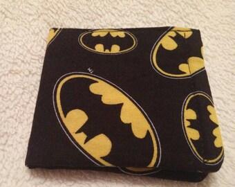 Batman wallet, bi-fold, wallet money holder, card holder.