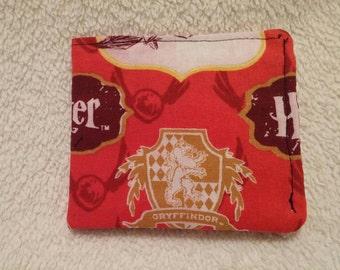 Harry Potter wallet, bi-fold wallet, wallet, card holder.