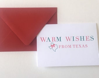Warm Wishes from Texas