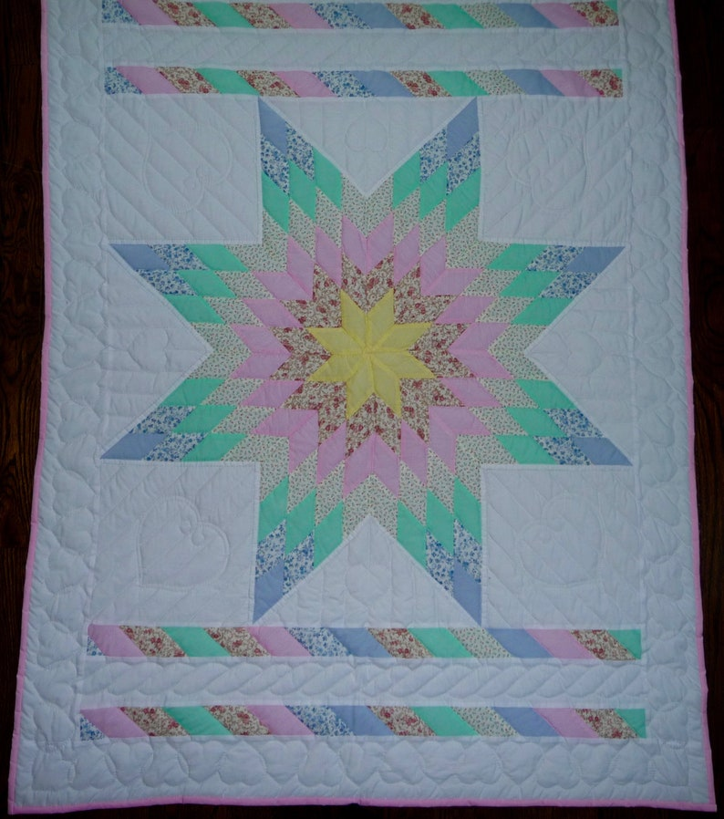 Amish Baby Quilt Noahs Ark Embroidered Amish Baby Quilt Amish Quilt for Sale