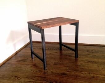 Metal Side Table | Etsy