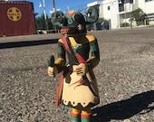 antique Hopi Indians Kachina Katsina doll Ho-o-te Ahote mid 20th century