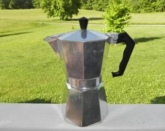 Bialetti Moka Express Coffee Maker Made In Italy Morenita ABC Crusinallo