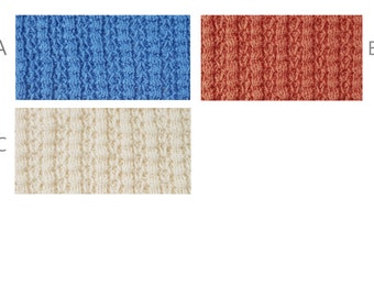 Swatches for Cotton Sweater Knits