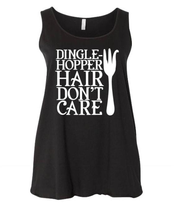 ae19e08862151 The Little Mermaid Plus size tank Dingle-Hopper Hair