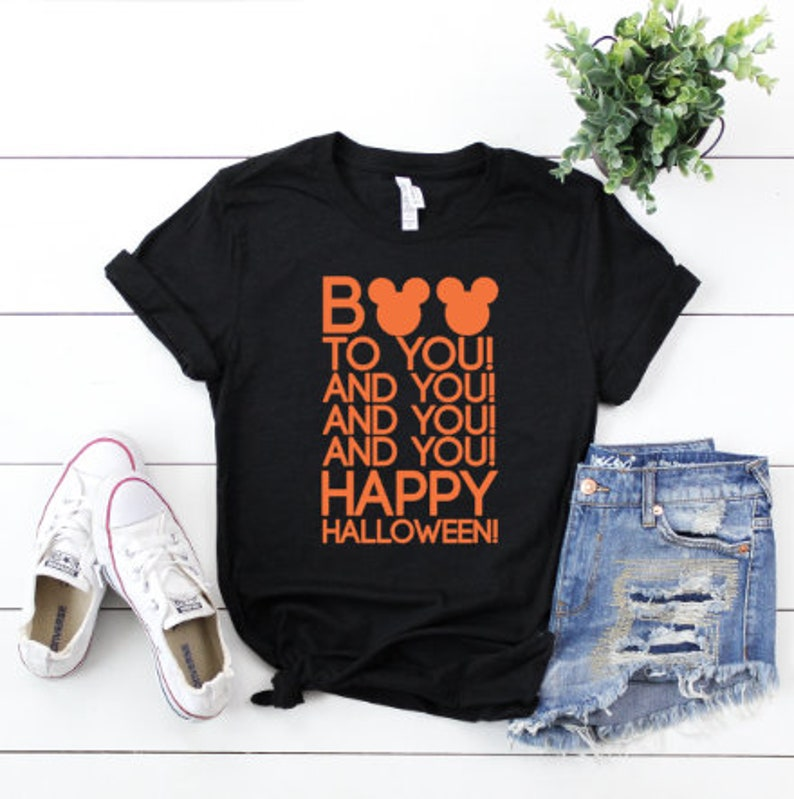 Disney Halloween Shirts Etsy.Disney Halloween Shirt Boo To You Shirt Disney Parade Shirt Halloween Shirt Disney Shirt Disney Fan Shirt Mickey S Not So Scary Shirt