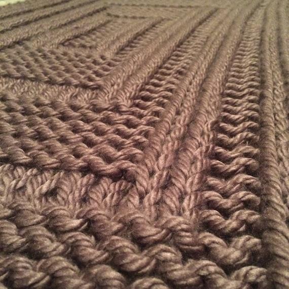 Easy Blanket Pattern Rectangle Ripples Easy Baby Blanket Etsy