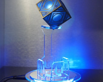 Holocron, led stand, holocron, illuminated, holocron display, holocron prop, stand only,jedi,sith