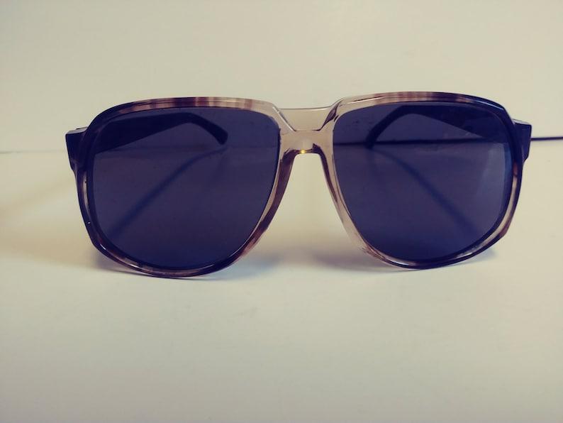Vintage NOS American Optical Aviator Sunglasses w/Glass lenses