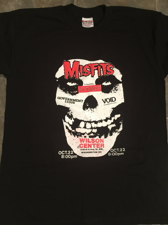 80s Tops, Shirts, T-shirts, Blouse   90s T-shirts Misfits Necros Flyer T-Shirt $19.99 AT vintagedancer.com