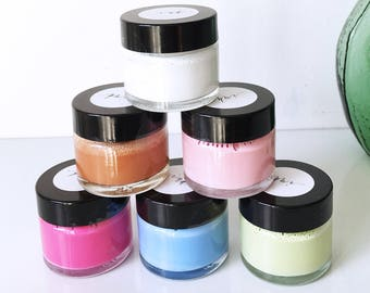 Calligraphy inks - mixed by hand - pastel colours for modern calligraphers