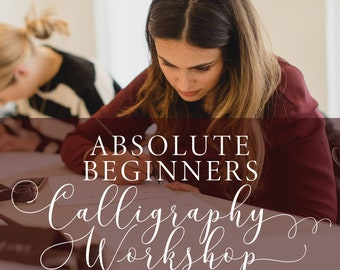 Absolute Beginners Calligraphy Workshop in Manchester on 17th May 2019, calligraphy class, beginner calligraphy