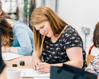 Beginners modern calligraphy workshop with tea and cake! Manchester, September 20th 2020