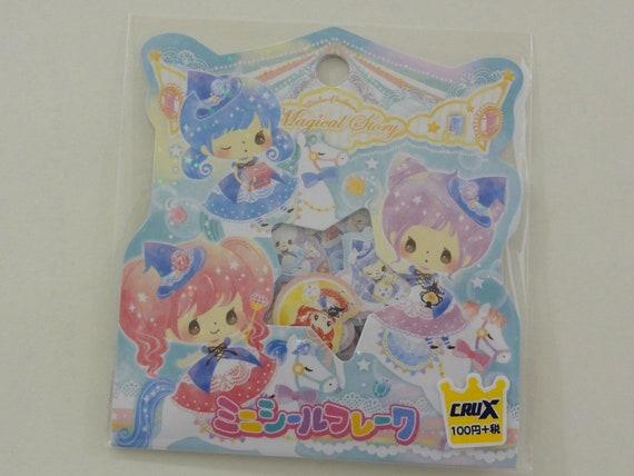 Crux Sweet Honey Bee Bear Flake Sticker Sack planner journal san-x sanrio gift