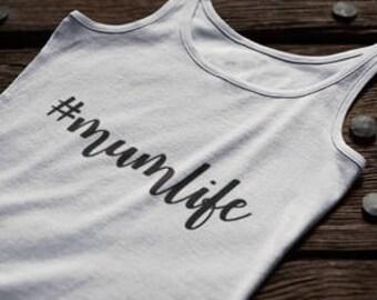 Mumlife/Momlife Hashtag diy transfer
