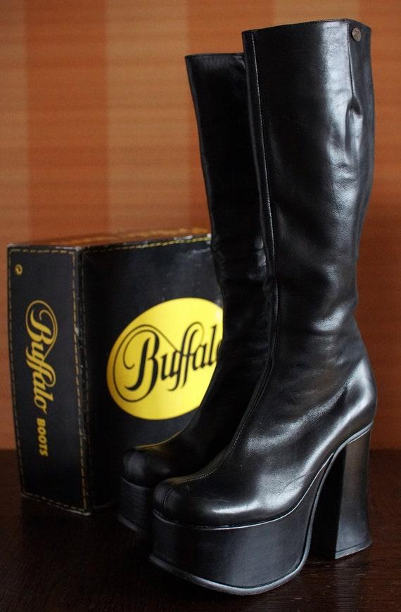 BUFFALO T 24400 II platform boots 90's Club Kid Go