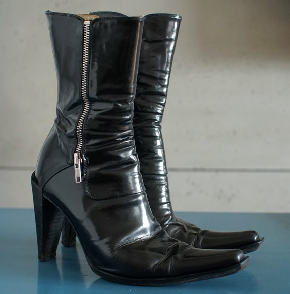 made in Italy cowboy western boots Cowgirl designe