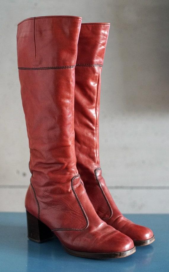 vintage 70s 80s Salamader boots