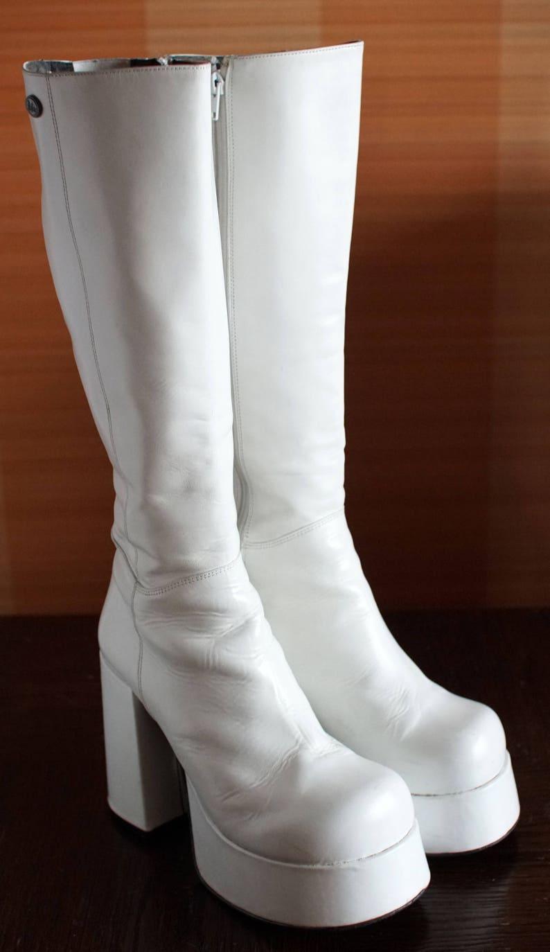 1c2cb10b169c BUFFALO T24400 CULT platform boots white 90 s Club Kid